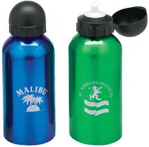 500 ml Aluminum Flask with Dome Sports Top