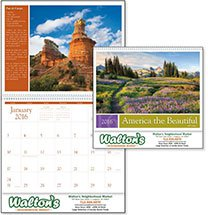 2016 America the Beautiful with Recipes Calendars