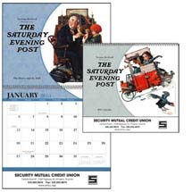 2013 The Saturday Evening Post Calendars