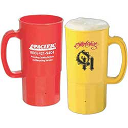 32 oz. Plastic Beer Steins
