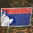 "Winningest Poly-Bag Yard Signs, Frame Included, 14"" x 36"""