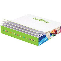 Post-it® Custom Printed Notes Slim-Cube,  110 Sheets, Full Color 3-3/8 x 3-3/8 x 1/2