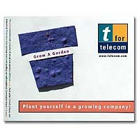 Seed Infused Note Cards, Plant Pot 4 x 5