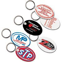 Key Chains, Sof-touch™ Oval Key Tags