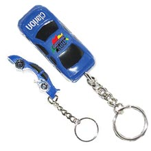 Race Car Key Chains, Bottle Openers