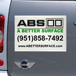 "Rectangle Car Magnets, 11-1/2"" x 8-1/2"""
