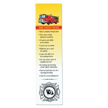 Bookmarks, Fire Safety Rules