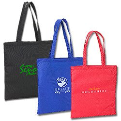 Reusable Shopping Bags, 98% Recycled Totes, 15 x 16-1/2