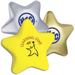 Stress Balls, Star Shape