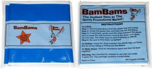 Light-Up BamBams Inflatable Noisemakers