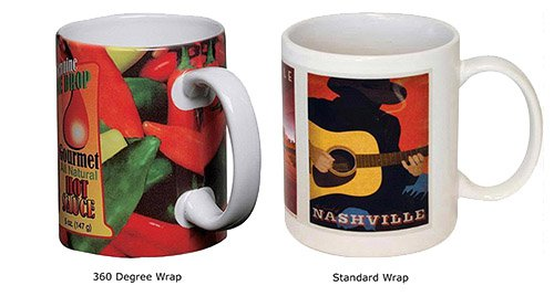 11 oz. Executive Stoneware Mug with Full Color Imprint