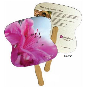 Full Color Hand Fans, Low Minimum, Econo