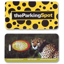 Spectra Luggage Tags, Full Color Imprint