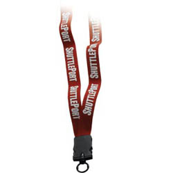 "3/4"" Stretchy Elastic Lanyard with Snap Buckle Release"