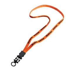 "Lanyards, 3/8"" Stretchy Elastic with Snap Buckle Release"