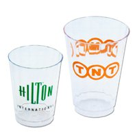 Disposable Tumblers, Classic Crystal