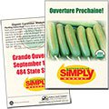 Organic Cucumbers Seed Packets