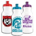 20 oz. Recyclable Sport Water Bottle