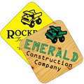 "2"" x 2"" Diamond Shaped Hard Hat Decals"