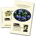 Postcard Size Forget-Me-Not Seed Packets