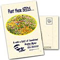 Postcard Size Wildflower Seed Packets