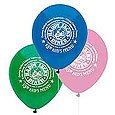 Basic Color Latex Balloons, 11""