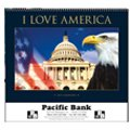 Patriotic Calendars, I Love America - 12 Month