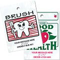 Die Cut Plastic Litter Bags, Better Health & Happiness Theme, No Gusset
