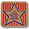 Cork Coasters, King Size Square