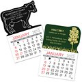 Self-Adhesive Calendars, Animal & Nature Shapes