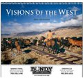Western Calendars, Visions of the West - 12 Month