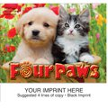Animal Calendars, Four Paws, 13 Month