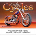 Motorcycle Calendars, Custom Cycles, 13 Month
