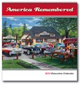 Art Calendars, America Remembered, Executive - 12 Month
