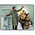 Norman Rockwell Recycled Calendars, Wonderful World, 12 Month