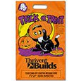 Halloween Bags, Orange Metallic with Tear-Off Coupon, 11 x 18