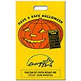 Halloween Bags, Pumpkin with Tear-Off Coupon, 11 x 18