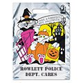 Metallic Haunted House Halloween Bags, 11 x 15