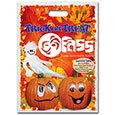 Halloween Bags, Full Color Ghost and Pumpkin Stock Design, 11 x 15