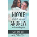 Save The Date Business Card Magnets