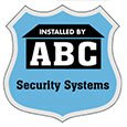 "Security Decals, 3"" x 3"" Badge, Clear Polyester"