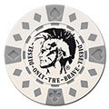 11.5 Gram ABS Composite Poker Chips - Diamond Design (Foil Stamp)