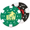 11.5 Gram ABS Poker Chips, Multiple Styles (Foil Stamp)