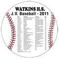 "5.5"" Baseball Sports Schedule Magnets"
