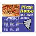 "Sports Schedule Magnets, 4"" x 3.5"" Round Corners"