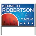 Full Color Winningest Poly-Bag Yard Signs, 16