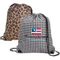 Designer Drawcord Backpacks