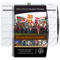 Academic Weekly Planners with Pen Safe Back Cover, Spiral Bound