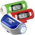 Pedometer with Flashlight and Siren