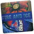 "4"" Square Union Printed Absorbent Stone Coasters"